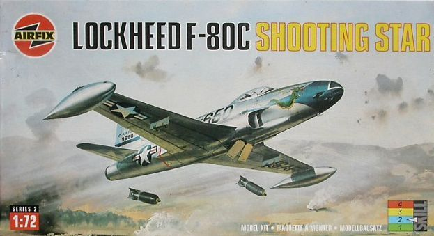 Lockheed F-80C Shooting Star (Airfix)