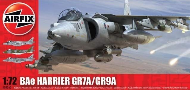 BAe Harrier GR7A/GR9A (Airfix)