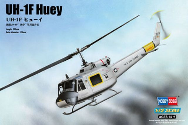 Bell UH-1F Huey (HobbyBoss)