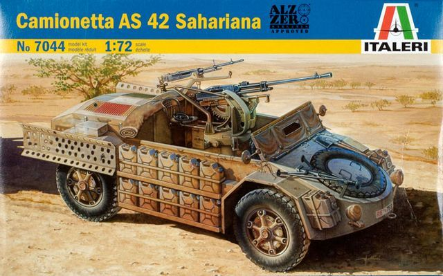 Camionetta AS.42 Sahariana (Italeri)
