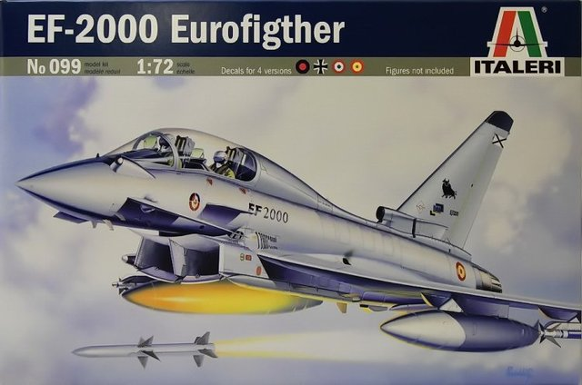 Eurofighter EF-2000B Typhoon (Italeri)