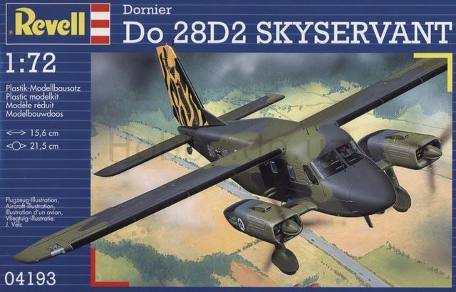 Dornier Do-28D2 Skyservant (Revell)
