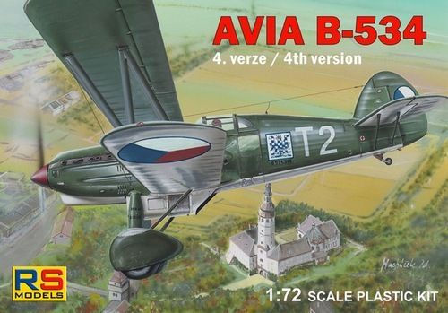 Avia B-534 IV. verze (RS Models)