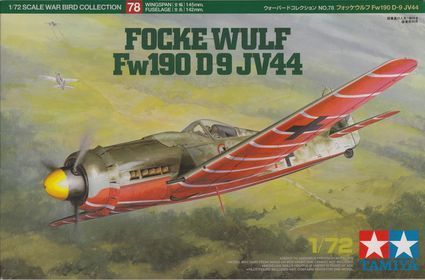 Focke-Wulf Fw-190D-9 JV44 (Tamiya)
